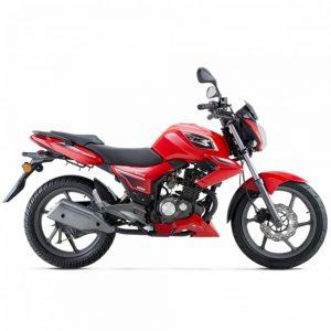 Keeway RKS 125 Sport rojo