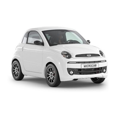 Microcar Due Premium blanco