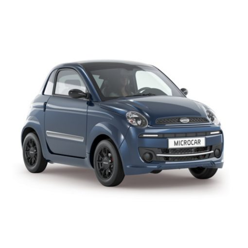 Microcar Due Blue Edition