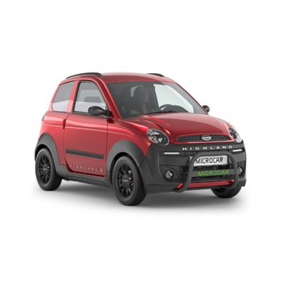 Microcar Highland X DCI Clima rouge