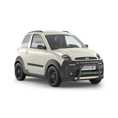 Microcar Highland X progress blanc