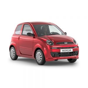 Microcar MGO 4 Dynamic Progress Rojo